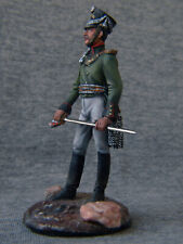 Officer of the Russian artillery. Elite tin soldiers 54 mm. Shcherbakov-HQModels