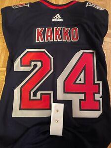 NEW New York Rangers KAPPO KAKKO adidas Reverse Retro Authentic Jersey Size 52