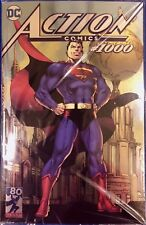 SDCC 2018 DC Comics ACTION COMICS #1000 (SILVER FOIL COVER) (JIM LEE) IN HAND