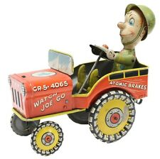 G.I. Joe Jouncing Jeep Tin Toy CR5-4065 Atomic Brakes Supersonic Speed 1944