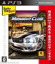 Used PS3 Midnight Club: Los Angeles PLAYSTATION 3 SONY JAPAN JAPANESE IMPORT