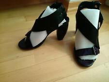 Elegante Damenschuhe der Designermarke ELISANERO, Größe 37, Leder, wie neu