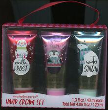 Kohl's Tri-Coastal Design Group 3-piece Simple Pleasures Scented Hand Creams Set