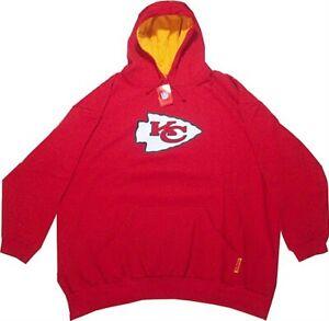 Kansas City Chiefs NFL Mens Critical Victory Hoodie Red Big & Tall Size 4XT