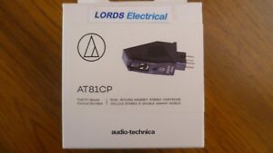 AUDIO TECHNICA AT81CP DUAL M/M  STEREO CARTRIDGE + STYLUS (REPLACES AT300P)