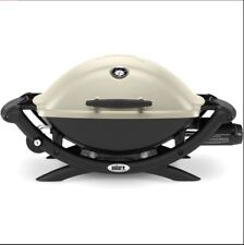 Weber Q2200 Gas Grill bbq cooking camping porcelain grid outdoor burner barbecue