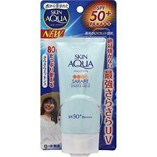 ☀ Rohto Skin Aqua Sunscreen Sarafit Essence UV Sarasara SPF 50+ PA++++ Japan ☀