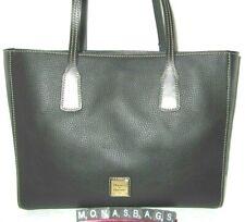 Dooney & Bourke Black Pebble Grain Leather Ashton Large Tote Bag NWT $268
