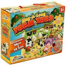 FERME GÉANTE YARD ANIMAL VIEUX MACDONALDS MUSICAL CHANTER PUZZLE SET 0423