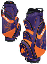 Team Effort The Bucket II Cooler NCAA Collegiate Golf Cart Bag Clemson Tigers