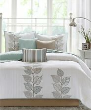 Madison Park Caelie 6-Pc. Floral Quilted Coverlet Set - FULL / QUEEN - Blue