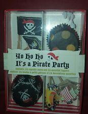 NEW Meri Meri Pirate Cupcake Kit Makes 24 FREE SHIPPING