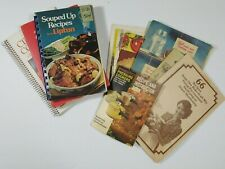 9 Vintage Cookbooks Lipton Campbells Baking Presto Ball Kerr Home Canning