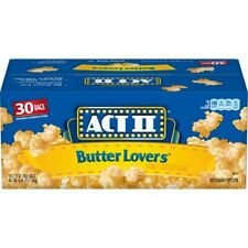 Act II Butter Lovers Microwavable Popcorn 30 Bags