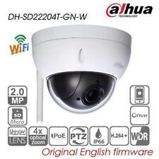 Dahua 2MP 4X PTZ IP Security Camera PoE WIFI IP66 P2P SD card slot SD22204T-GN-W
