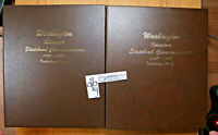 1999- 2008 PDSS Washington Statehood Quarter Set - 200 Coins in 2 Dansco Albums