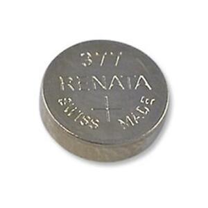 RENATA 377 SR626 SW LR626 Batteria Silver Oxide 1,55V Bottone per Orologi