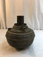 Antique Kerosene Oil Juno Lamp Part Font