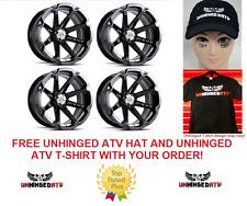 MSA - (QTY 4) M12 Diesel Wheels ATV & UTV Wheels 14''Can-Am Renegade Outlander