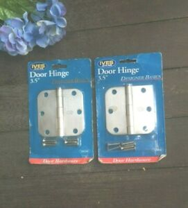 """Pair of IVES SCHLAGE 3.5"""" Door Hinge set of 2 Satin Nickel New Free Shipping USA"""