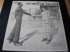 SIR COLLINS...NEW CROSS FIRE...REGGAE DUB ROOTS LP ALBUM 33RPM...CRISP WAX