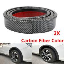 2X 1.5M Car Fenders Wheel Eyebrow Wheel-Arch Extension Protector Lip Trim Strip