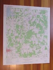 Troup East Texas 1976 Original Vintage USGS Topo Map