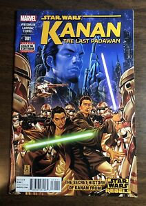 KANAN THE LAST PADAWAN #1 1ST APP EZRA BRIDGER SABINE WREN Star Wars comic!🔥