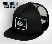 New Quiksilver Dudes Mens Snapback Trucker Cap Hat