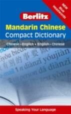 NEW - Mandarin Chinese Compact Dictionary: Chinese-English/English-Chinese