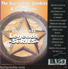 The Guess Who, Grass Roots, & Zombies Legends Karaoke CDG 16 Sgs American Woman