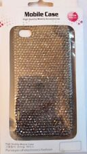 Luxmo Silver Bling Gem Jeweled Crystal Cover Case for Apple iPhone 4 4s