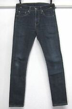 LEVI'S ORIGINAL 510 MEN'S 29x30 DESTROYED SUPER SKINNY STRETCH JEANS MID RISE