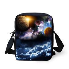 Galaxy Print Messenger Women Kids Small Shoulder Bags Crossbody Purse Sling Bags