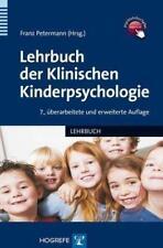 Lehrbuch der Klinischen Kinderpsychologie (2013, Gebundene Ausgabe)