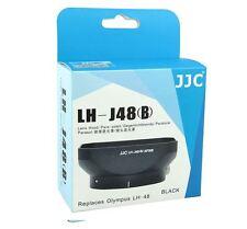 JJC Black Metal Lens Hood for Olympus 17mm F1.8 Zuiko Replaces Olympus LH-48B
