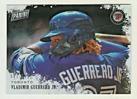 2019 Panini Black Friday HOLO FOIL #VG VLADIMIR GUERRERO JR  7/199 RC Rookie