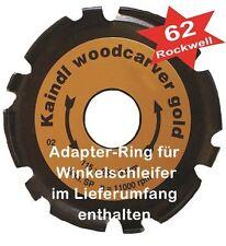 Kaindl Woodcarver Gold - Ø115 mm - Frässcheibe für Winkelschleifer