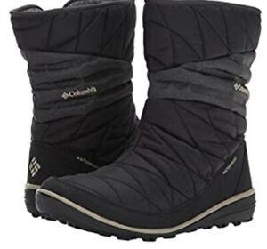 NIB $130 Columbia Women's Heavenly Slip ll Omni-Heat Snow Boot Silver Sage 9.5