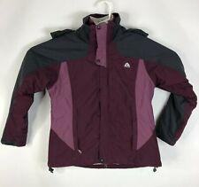 Womens M 2pc Layered Nike ACG 2 Weatherproof & Thermal Zip Up Jacket Coat Hood