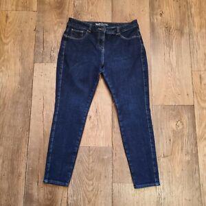 "NEXT 360 Blue (UK Size 14S) Super Skinny Jeans W32"" L26"" Waist Shaping Short Leg"