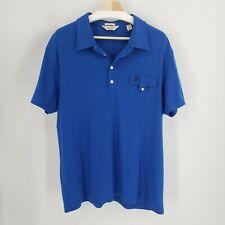 PENGUIN Munsingwear Original Polo Shirt Mens XXL 2XL Classic Fit Blue SS Shirt