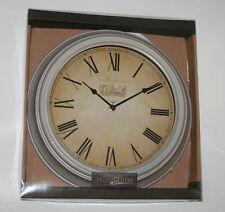 Large Vintage Antique Chateau Design Cream 35cm Wall Clock W6412c