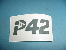 PIONEER P42 CHAINSAW DECAL
