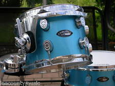 "PACIFIC PDP by DW 10"" LX MAPLE SERIES BLUE LACQUER RACK TOM for DRUM SET #R363"