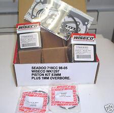 WISECO WK1297 735cc BIG BORE PISTON KIT SEA DOO SEA-DOO SEADOO 718 SP SPX XP GTI