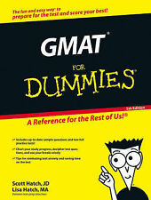 GMAT for Dummies by Lisa Zimmer Hatch, Scott Hatch (Paperback, 2006)