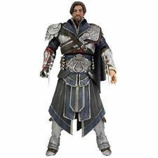 "Assassin's creed brotherhood ezio 7 ""action figure Onyx Costume unhooded limited"
