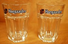Hoegaarden 15 cl Mini Hexagonal Tumbler Taster Glass - Set of (2) Glasses - NEW