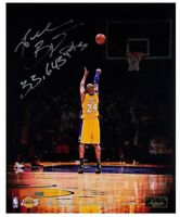 "KOBE BRYANT SIGNED LA LAKERS "" TOTAL POINTS"" PHOTO 8x10 ART PRINT 🏀 BASKETBALL"